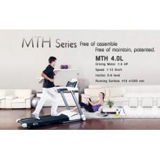ลู่วิ่งไฟฟ้า MTH 4.0L มอเตอร์1.5แรงม้า พับเก็บได้ ส่งฟรี